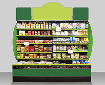 Country Fresh Packaging In Aisle