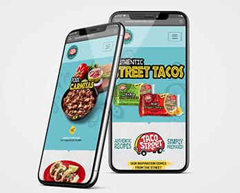 Taco Street Microsite