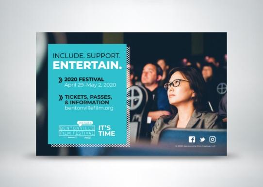 Bentonville Film Festival Ad